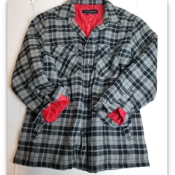 VINTAGE 90s lumberjack flannel coat
